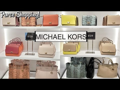 Michael Kors OUTLET PURSE SHOPPING UP TO 90% OFF * WALKTHROUGH 2020