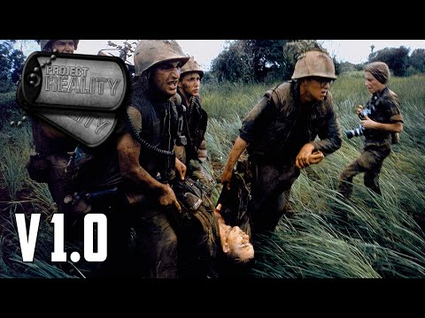 Project Reality v1.0 - US Air Cav Battle NVA Forces in la Drang Valley (Part 1)