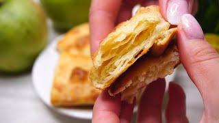 Мое Ленивое Слоеное тесто на кефире за считанные минуты для слоек и пирожков!