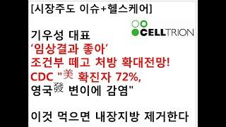 [시장주도 이슈+헬스케어]기우성 대표'임상결과 좋아'조…