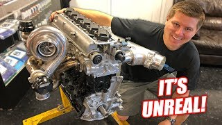 Cooper's 2JZ Supra Engine is ALMOST Complete! (This thing is INSANE...Might run 8's)