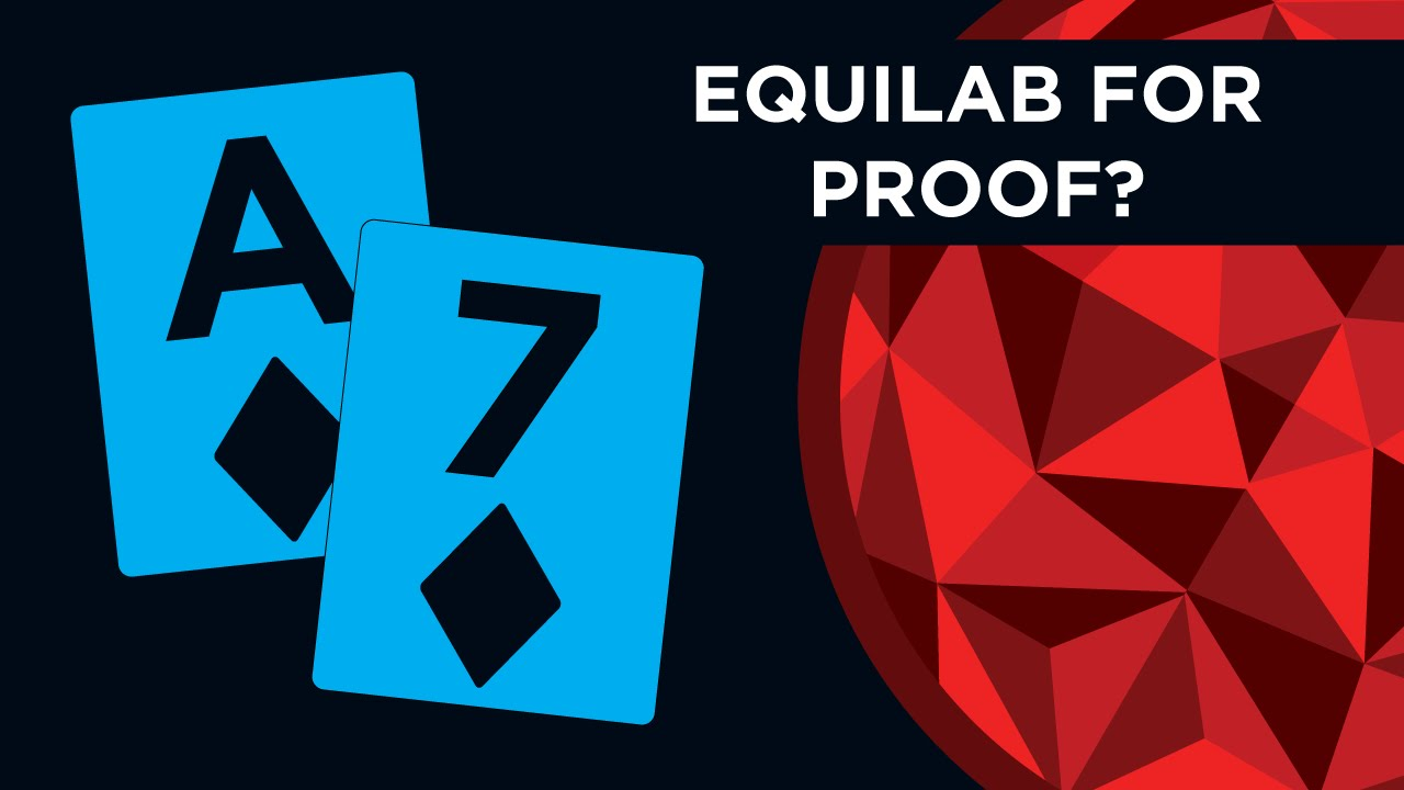 Equilab to check Equity | Red Chip Poker