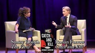 """Ronan Farrow, """"Catch and Kill"""" (with Sunny Hostin)"""