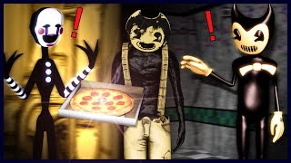 Download [SFM/BATIM] Bendy Follows Sammy to Freddy's Pizzeria - Bendy and the Ink Machine Animation Mp3 and Videos