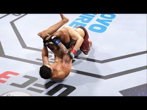 Khabib Vs. Ray Borg (EA Sports UFC 3) - CPU Vs. CPU