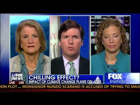 Shelley Capito vs  Debbie Wasserman Schultz on Obama Climate Change Plan   Fox and Friends  6 28 13