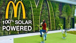 We Visit The WORLD's MOST Eco-Friendly McDonalds