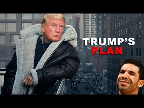 Image Description of : Trump Sings God's Plan by Drake