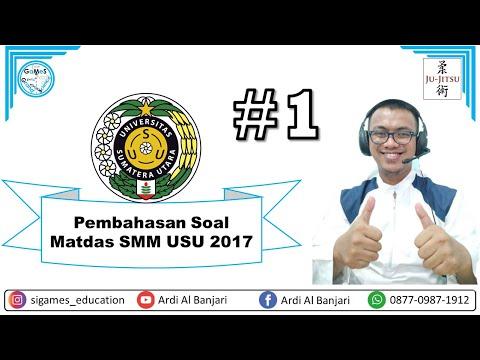 Matdas SMM USU 2017 #1 | USU 2020