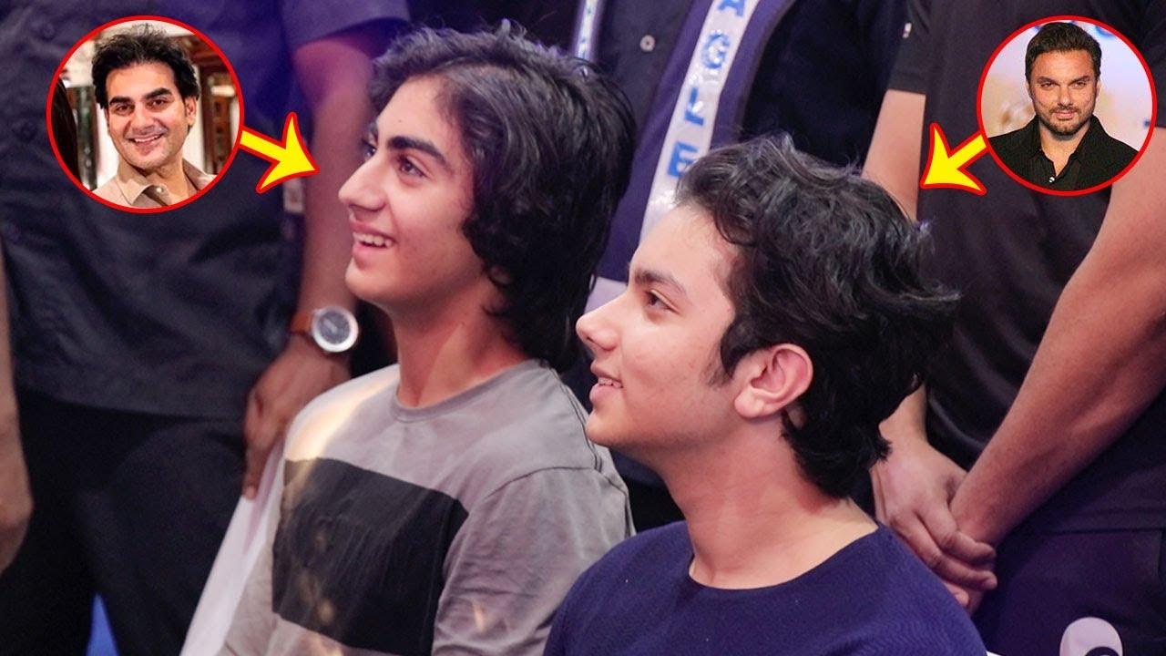 Salman Khan's Nephews: Sohail Khan's Son Nirvaan & Arbaaz ...