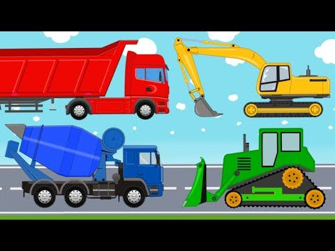 Construction Vehicles And Special Equipment For Machines | Educational Video For Kids