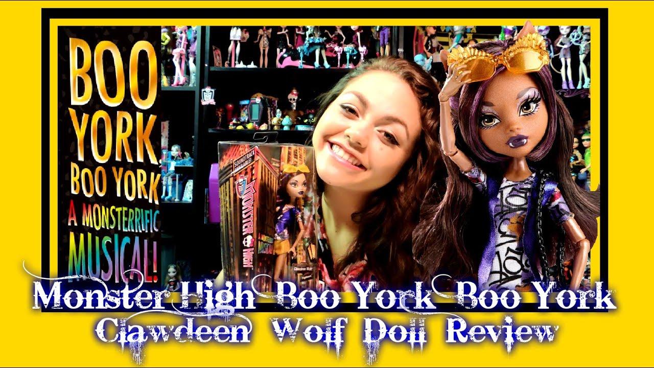 monster high boo york boo york clawdeen wolf doll review