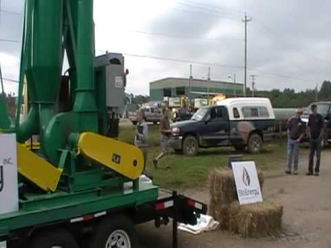 BioEnergy Inc. Mobile Pelletizing Plant demonstration Sept 16, 2011