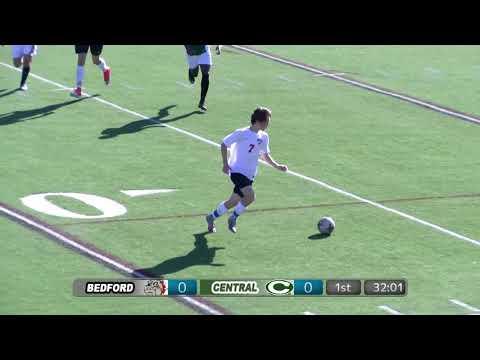 Bedford Bulldog Boys Soccer vs Manchester Central - D1 Quarter-Finals  - October 28, 2017
