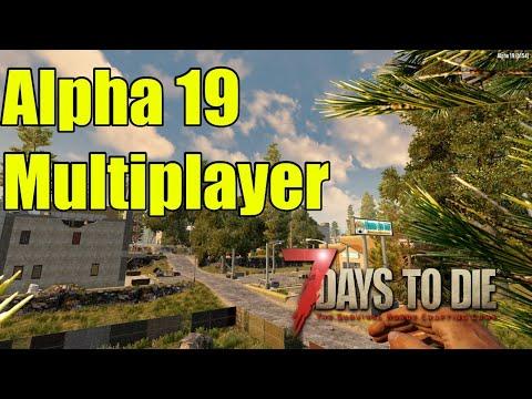 7 Days to Die Alpha 19 Multiplayer server Launch stream