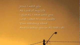 Father I thank you (Whole song) with lyrics by jasieLCalixto