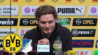 3:3 nach 3:0-Führung | PK mit Co-Trainer Edin Terzic | Borussia Dortmund - TSG Hoffenheim