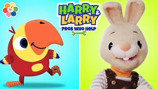 Harry and Larry | Learning New Words | Vocabulary for Kids | Learning videos for Kids | BabyFirst