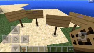 (видео урок-#1)-как писать цветными буквами [Minecraft pe](0.14.0)