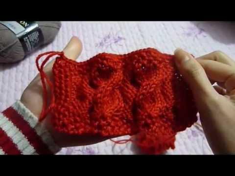 [zieuhuong] Đan khăn vặn thừng đơn giản.clip3