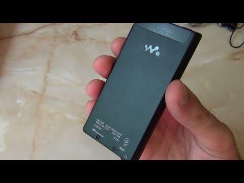MP3 Плеер Sony NWZ-F806. Дорогой и Мощный Девайс / от Арстайл /