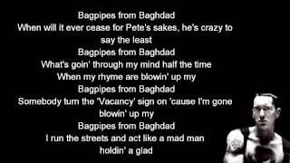 Download Eminem - Bagpipes from Baghdad lyrics [HD] Mp3 and Videos