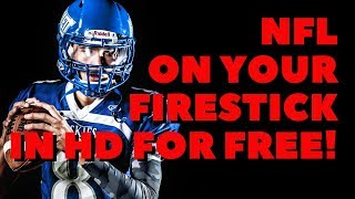 NFL ON YOUR FIRESTICK IN HD!
