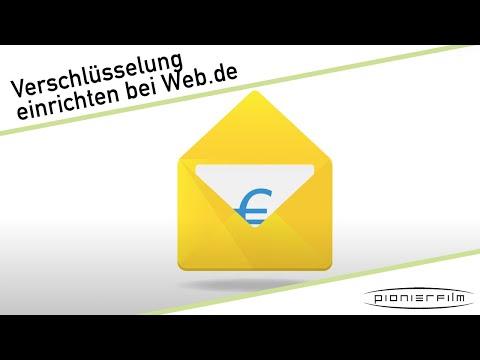 Verschlüsselte Kommunikation Bei WEB.DE Einrichten