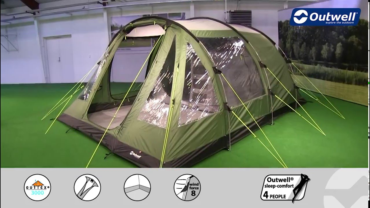 & Outwell Aspen 500 Tent | Innovative Family Camping - YouTube