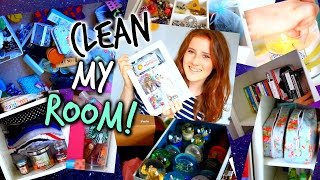 Cleaning My Room: Organization Tips & Tricks + Easy DIYs for 2015!