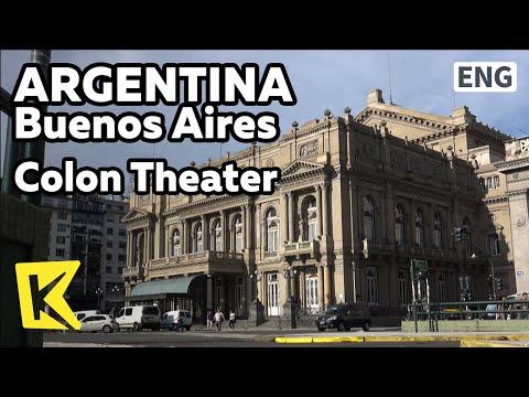 【K】Argentina Travel-Buenos Aires[아르헨티나 여행-부에노스아이레스]세계 3대 극장 콜론/Colon theater/Renaissance