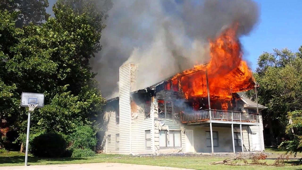 Black Lady House Fire