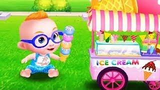 Крошка МАЛЫШ Как БОСС молокосос  В парке Мультики Игра для детей мультфильмы 2017