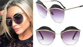 Women's big frame red Sun glasses | Best Sun glasses 2019