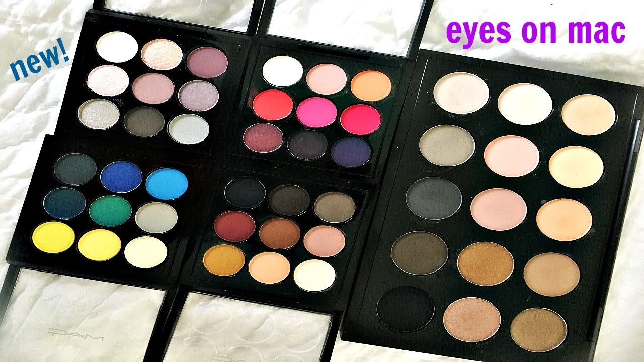 New 2017 eyes on mac eyeshadow palettes youtube eyes on mac eyeshadow palettes thecheapjerseys Image collections