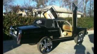 Most Hated Car Club Black Cadillac Coupe DeVille On 28