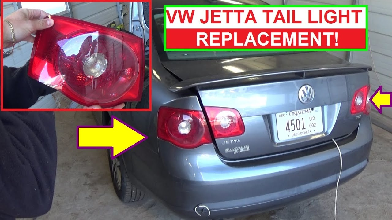 2003 Vw Jetta Tail Light Wiring Diagram Mazda 3 Bose Amp Mk5 Rear Removal And Replacement Brake Youtube