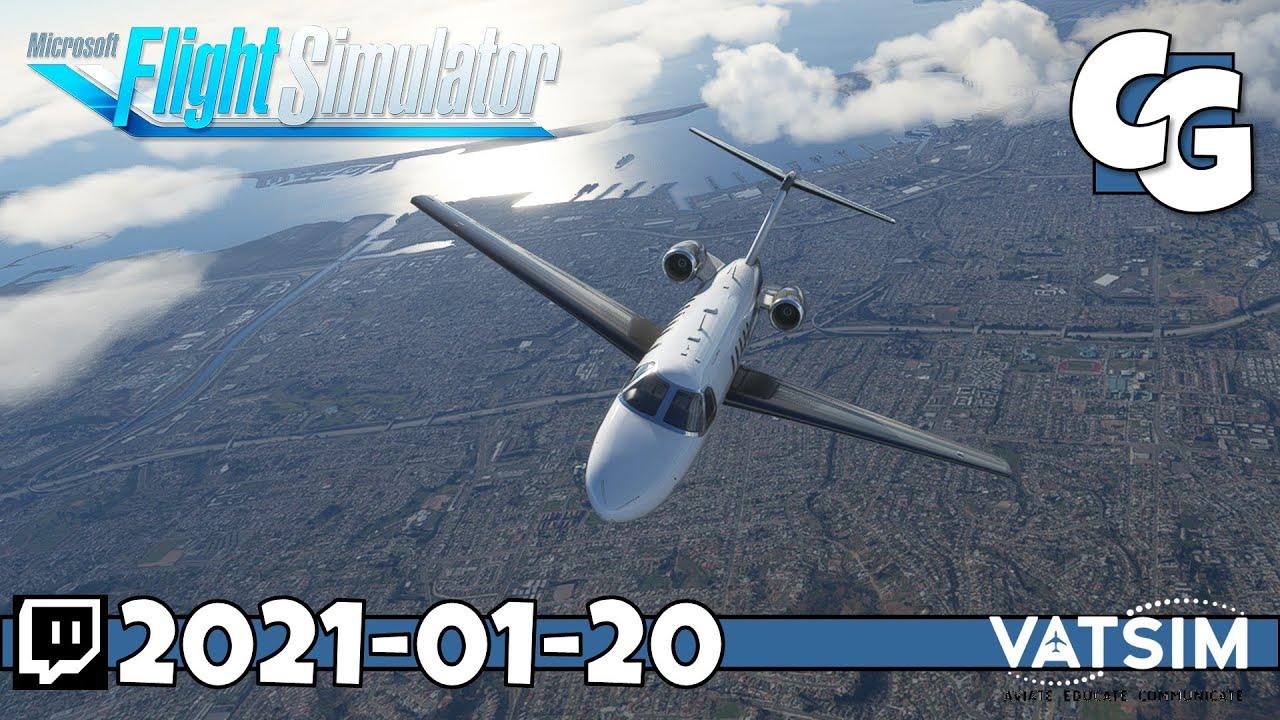 Full VATSIM Flight (w/ Timestamps) - KSAN to KSFO ...