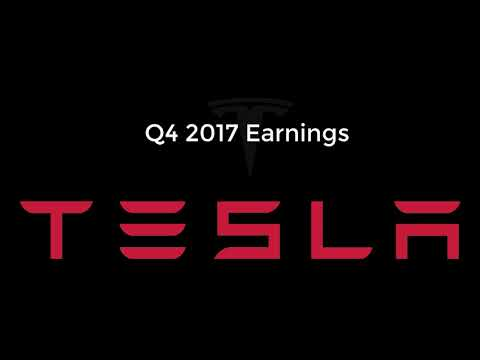 Tesla Q4 2017 Earnings Call | Biggest Quarterly Loss Yet, Mo