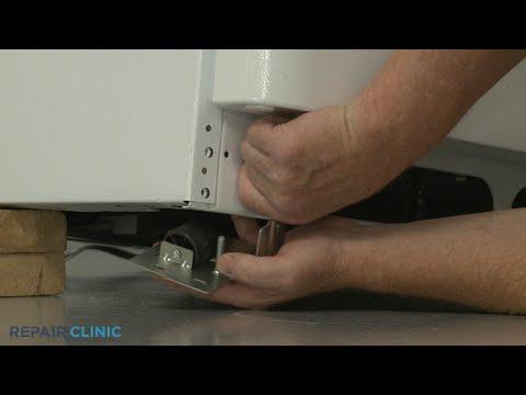 Front Left Roller - Frigidaire Refrigerator FFTR1814TW8