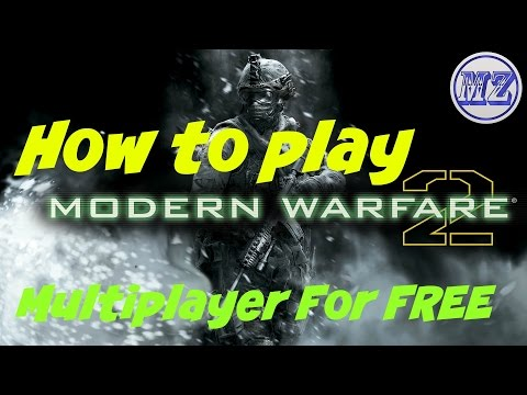 How To Play Call of Duty Modern Warfare 2 Multiplayer for Free PC [2017 UPDATED]