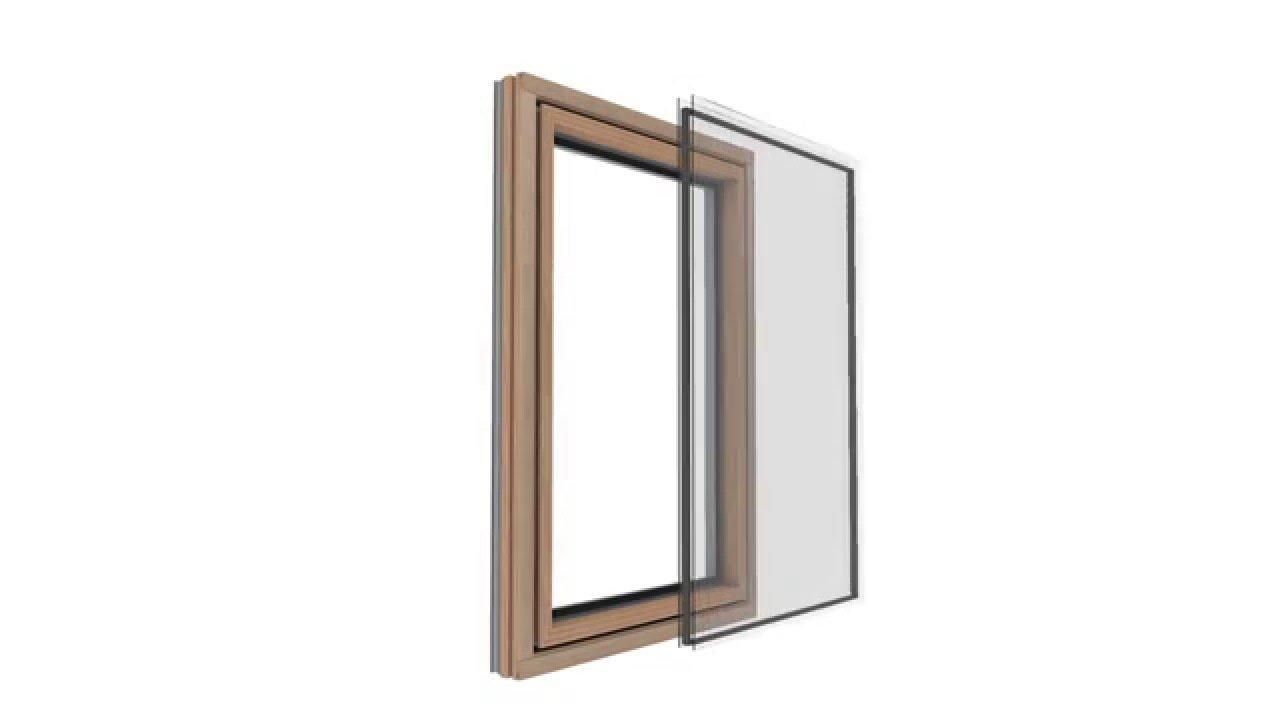 Das neue Internorm Holz/Aluminium-Fenster HF 410 - YouTube