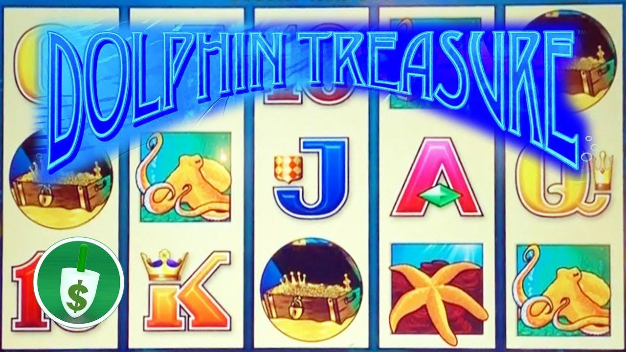 Dolphin Treasure Slot Machine