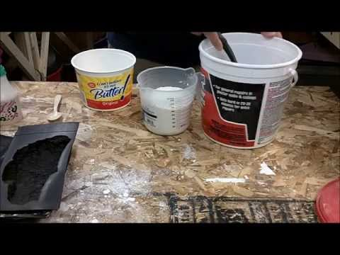 How To mix Plaster of Paris - For longer working time.