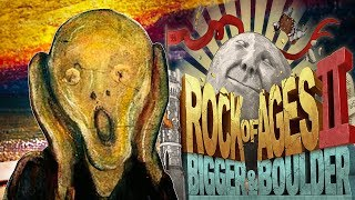 Rock of Ages 2 - Screaming Big Boulders! - William Wallace & The Scream - Rock of Ages 2 Gameplay
