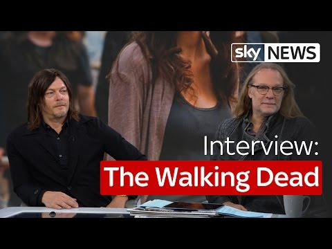 The Walking Dead: Talking Daryl, gore and zombies with Norman Reedus and Greg Nicotero