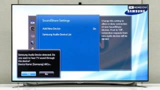 Using TV SoundConnect   Samsung SHAPE M7 Wireless Audio Speaker WAM750