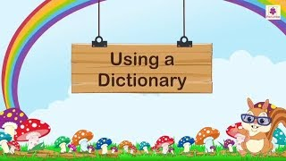 How To Use Dictionary For Kids | Periwinkle
