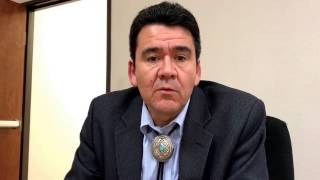 Deputy Interior Secretary Michael L. Connor on issues affecting the Navajo Nation