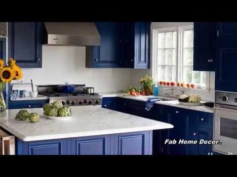 2018 Blue Kitchen Decoration Ideas 3